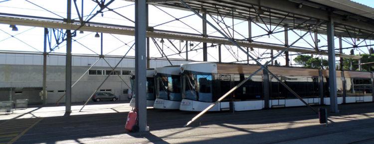 Dépôt Tramway St Pierre