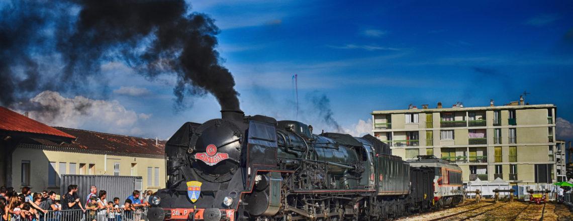 Fête du train à Miramas, le grand retour